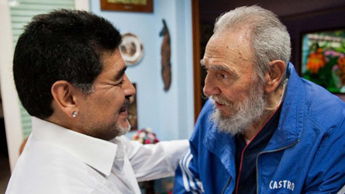 Ο Μαραντόνα εξηγεί ποιος ήταν ο Κάστρο και συγκλονίζει! | Newsit.gr
