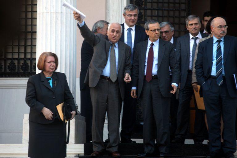 Τα «έσπασαν» Σαμαράς με δικαστές για 200 ευρώ | Newsit.gr