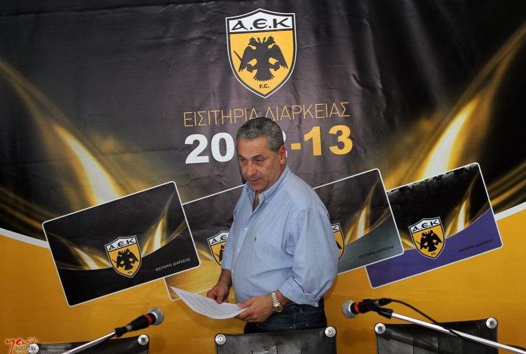 Δημητρέλος: Πρόεδρος στην ΑΕΚ είμαι εγώ! | Newsit.gr
