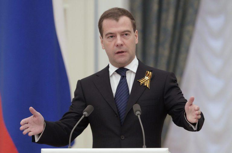 Φόρο τιμής στα θύματα του μεγάλου λιμού στην Ουκρανία απέτισε Μεντβέντεφ   Newsit.gr