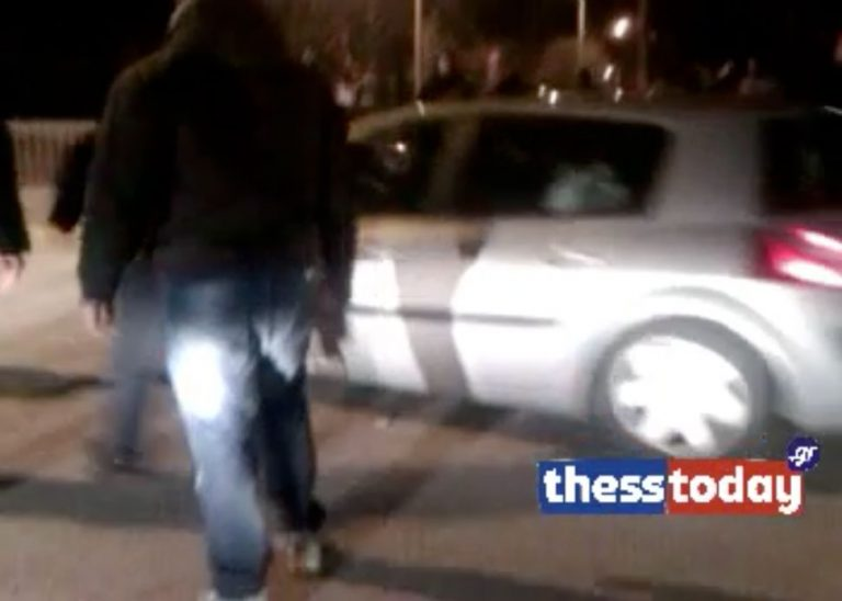 Η στιγμή της επίθεσης οπαδών του ΠΑΟΚ στον Δώνη (VIDEO) | Newsit.gr