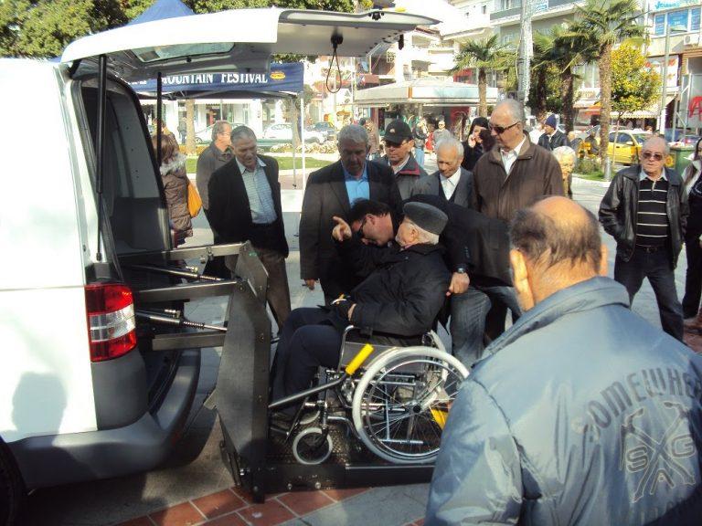 Το πρώτο ταξί ΑΜΕA στους δρόμους της Καβάλας! | Newsit.gr