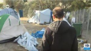 Μέσα στο hot spot της Σάμου: Σκηνές χωρίς θέρμανση και σκουπίδια παντού [vid]
