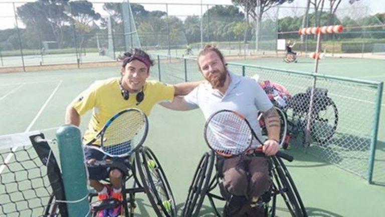 Τένις με αμαξίδιο: Τετράδα για τον Στέφανο Διαμαντή στο τουρνουά της Πορτογαλίας | Newsit.gr