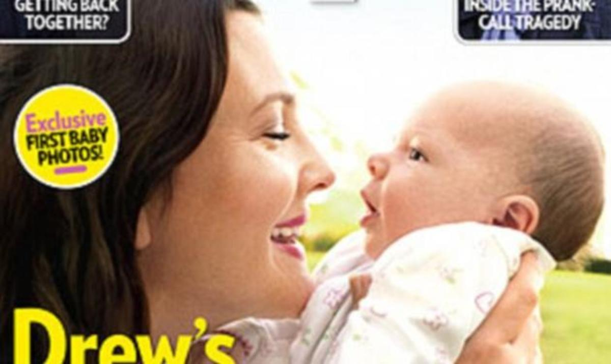 H Drew Barrymore μας συστήνει την κόρη της Olive! | Newsit.gr