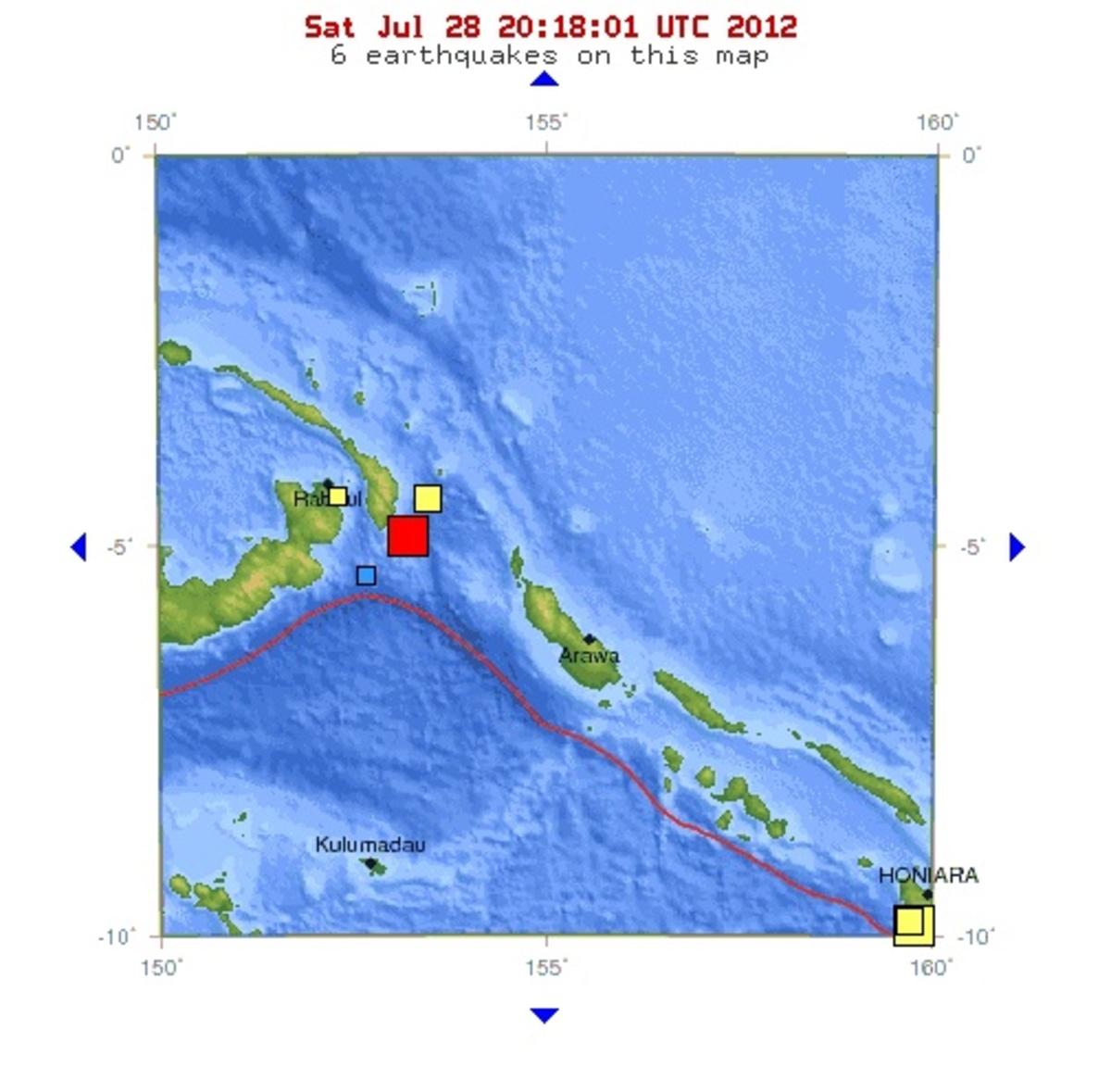 Σεισμός 6,6 ρίχτερ στην Παπούα Νέα Γουινέα | Newsit.gr
