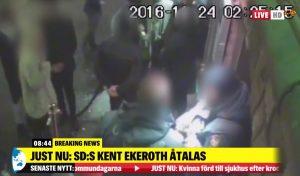 Σουηδία: Απαγγέλθηκαν κατηγορίες σε ακροδεξιό βουλευτή που χαστούκισε άνδρα [vid]