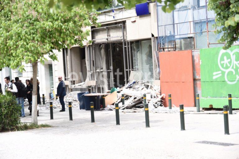Έκρηξη βόμβας: Εικόνες – σοκ από την τράπεζα | Newsit.gr