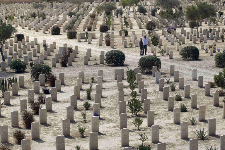 Ο Κ. Παπούλιας στην 70ή επέτειο από την μάχη του Ελ Αλαμέιν | Newsit.gr