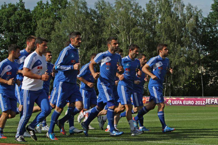 Photostory από προπόνηση της Εθνικής | Newsit.gr