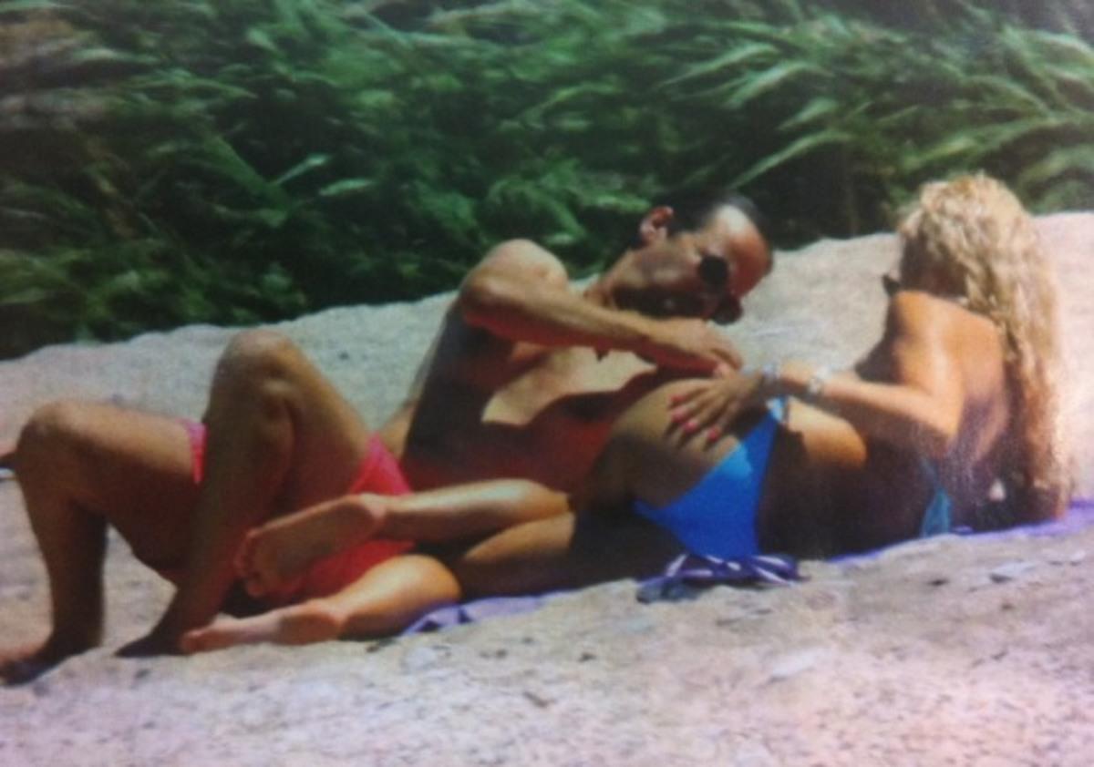 Μενεγάκη  – Παντζόπουλος χαλαροί στην παραλία – Δείτε φώτο! | Newsit.gr