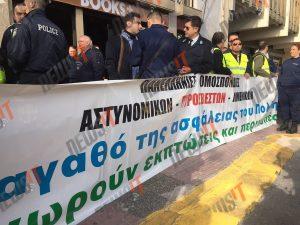 """Ένστολοι απέκλεισαν το Γενικό Λογιστήριο του Κράτους – """"Θα αποκλείσουμε και το υπουργείο"""""""