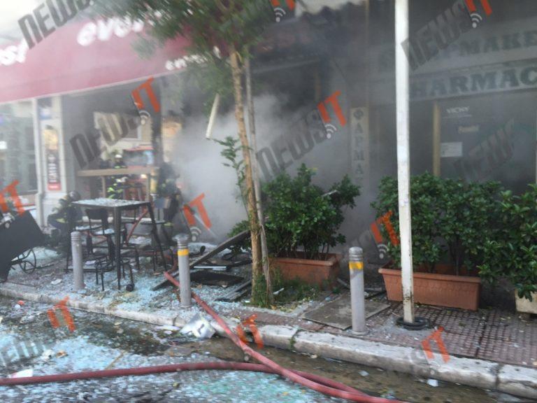 Έκρηξη στα everest στην πλατεία Βικτωρίας | Newsit.gr