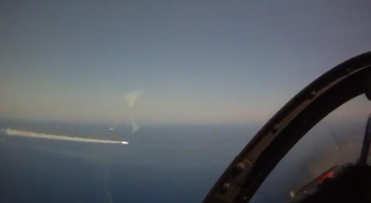 Σε βίντεο η ρίψη EXOCET από Mirage 2000,στο Πεδίο Βολής Κρήτης | Newsit.gr