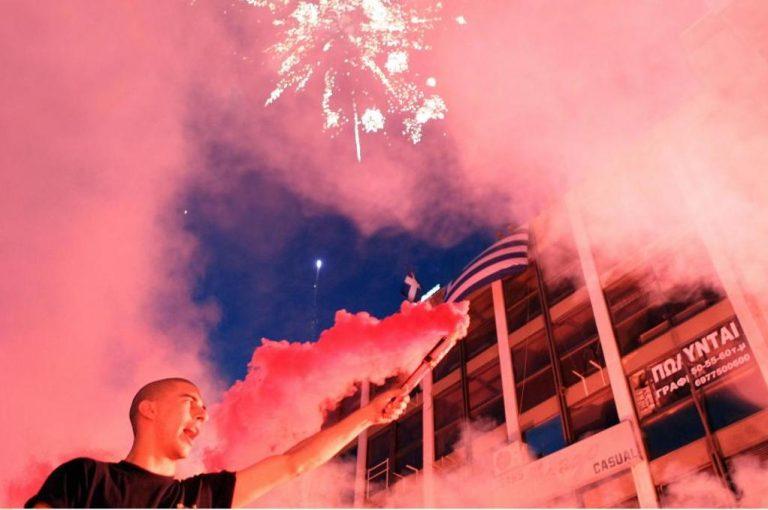 Πανηγυρισμοί στη Θεσσαλονίκη για τη Χρυσή Αυγή | Newsit.gr