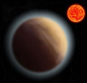 Ανιχνεύθηκε ατμόσφαιρα γύρω από μια κοντινή υπερ-Γη!