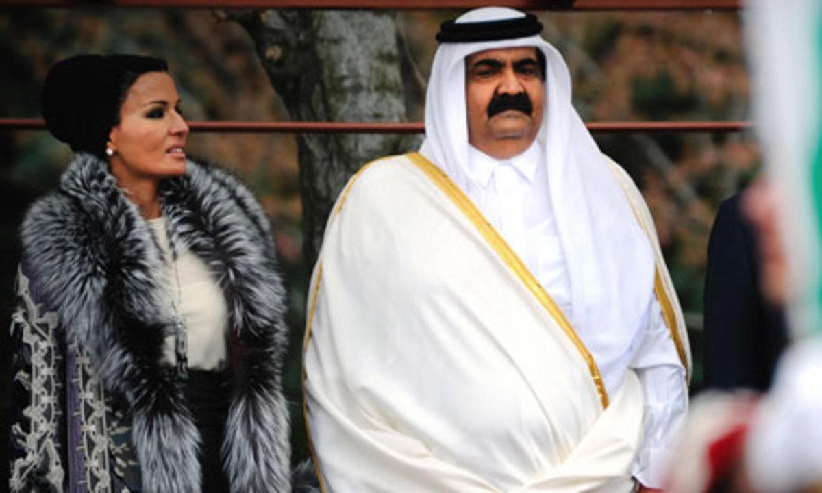 Ο εμίρης του Κατάρ στη Λωρίδα της Γάζας   Newsit.gr