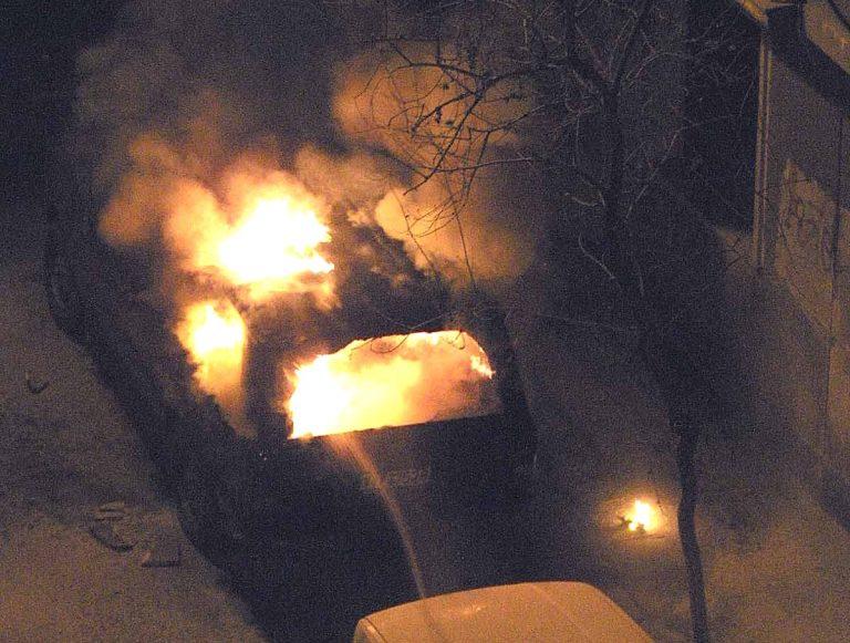 Του έκαψαν το αυτοκίνητο με γκαζάκια!   Newsit.gr