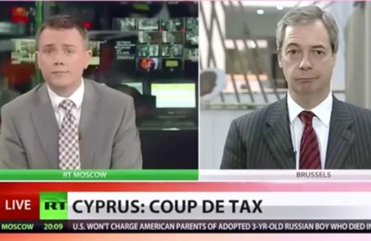 «Πάρτε τα χρήματά σας και τρέξτε» – Ο N.Farage μιλά για το «έγκλημα» στην Κύπρο   Newsit.gr