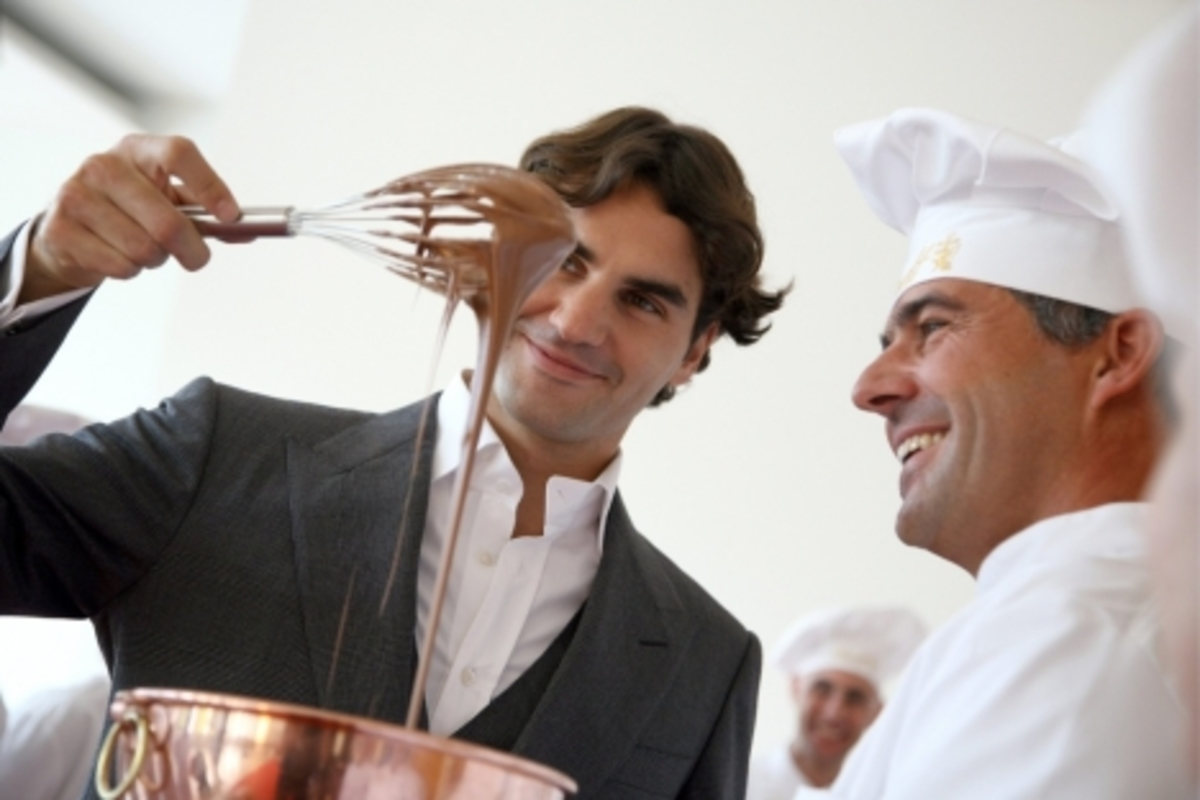 Ο Φέντερερ πρωταγωνιστεί σε διαφήμιση σοκολάτας   Newsit.gr