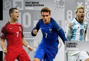 FIFA: Η τελική τριάδα για τον κορυφαίο ποδοσφαιριστή!