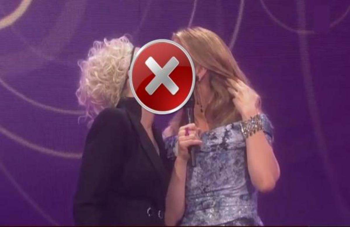 ΒΙΝΤΕΟ ΣΟΚ! Ποιες παρουσιάστριες φιλήθηκαν με πάθος στο στόμα; | Newsit.gr