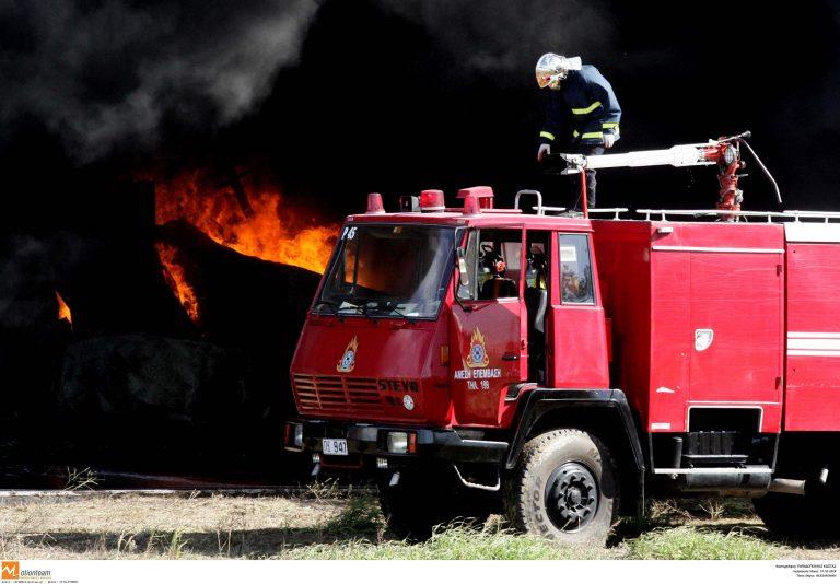 Ημαθία: Φωτιά σε αποθήκη λιπασμάτων | Newsit.gr