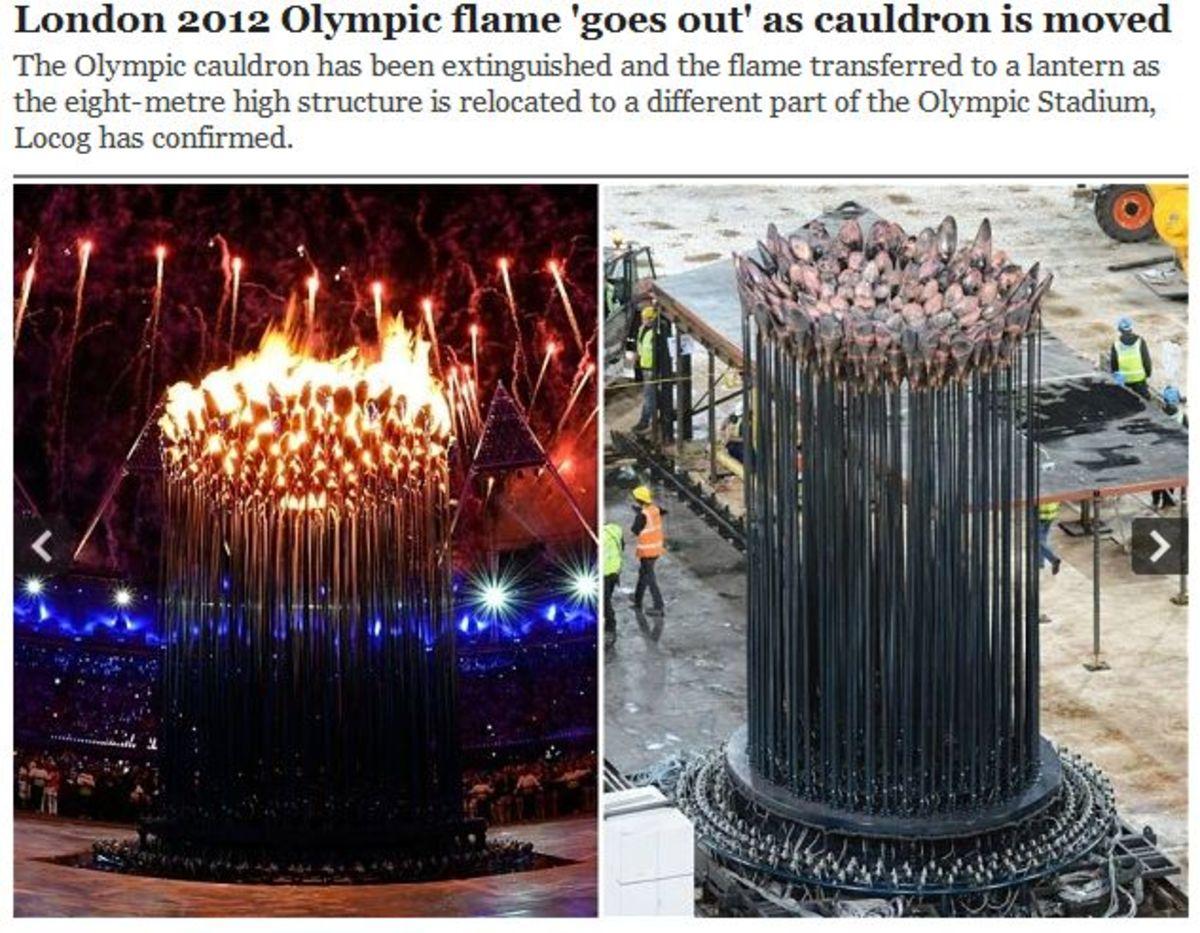 Κι όμως οι Άγγλοι έσβησαν την… Ολυμπιακή Φλόγα! | Newsit.gr