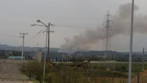 Κόρινθος: Φωτιά τώρα στην περιοχή  Μέγας Βάλτος [pics]