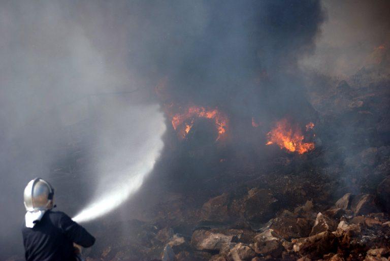 Ξέφυγε η φωτιά στο Άγιο Όρος | Newsit.gr