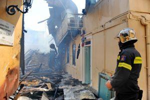 Θεσσαλονίκη: Στο νοσοκομείο ζευγάρι μετά από φωτιά – Με σοβαρά εγκαύματα ο άνδρας