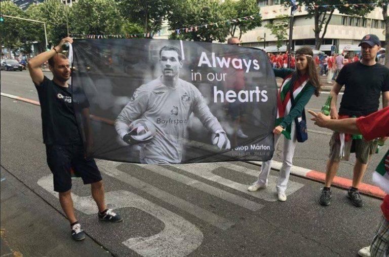 Euro 2016: Ούγγροι οπαδοί τίμησαν τη μνήμη του Μάρτον Φούλοπ! | Newsit.gr