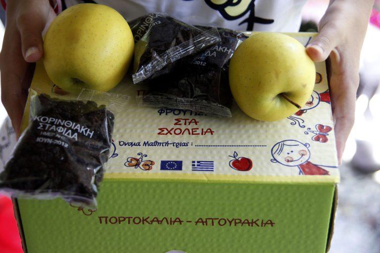 Αποτέλεσμα εικόνας για φρούτα στα σχολεία αφίσα