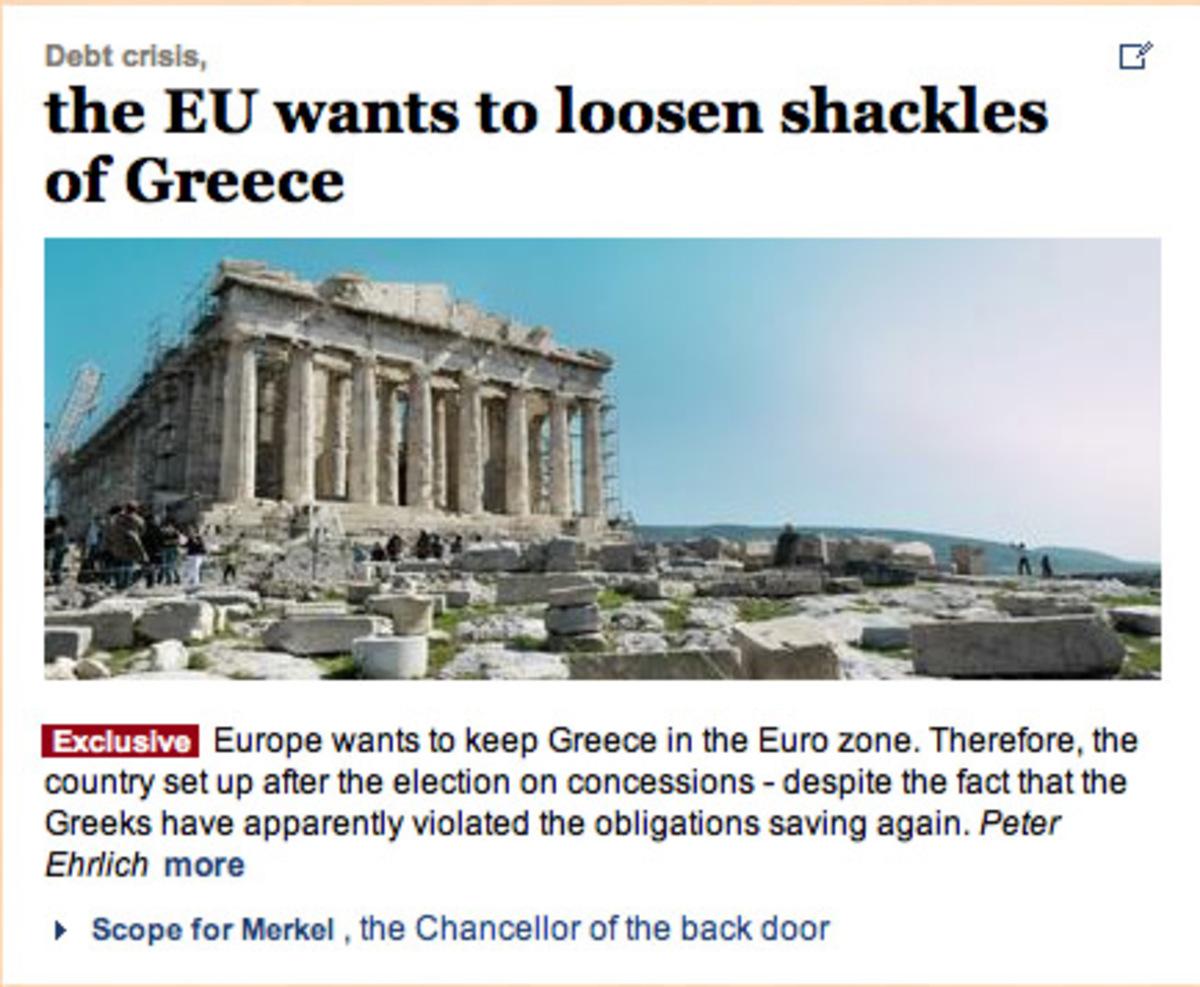 Συμφωνία κάτω από το τραπέζι για χαλάρωση των όρων ετοιμάζει η τρόικα για την Ελλάδα; | Newsit.gr