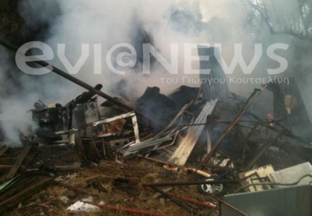 Εύβοια: Ούτε η βροχή δεν έσβηνε τη φωτιά – ΒΙΝΤΕΟ | Newsit.gr