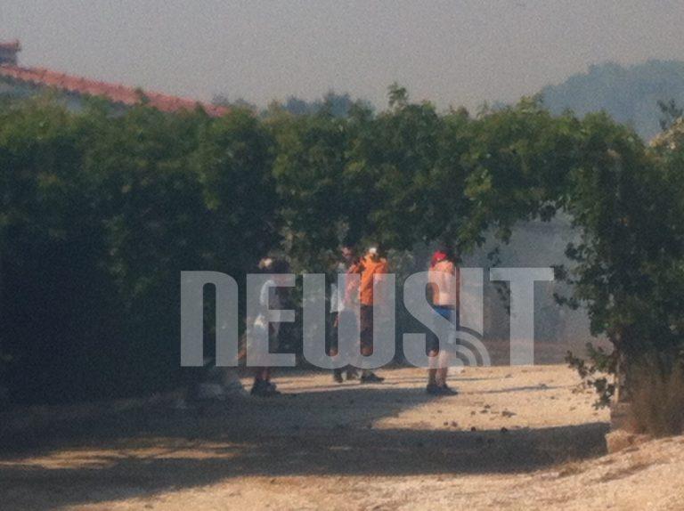 Πύρινος εφιάλτης λίγες ώρες πριν τις εκλογές – Και η Χρυσή Αυγή στο μέτωπο της φωτιάς | Newsit.gr