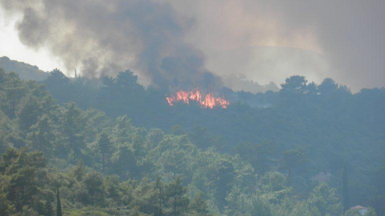 Σε ύφεση οι φωτιές σε Σάμο και Εύβοια – Σε επιφυλακή οι πυροσβέστες | Newsit.gr