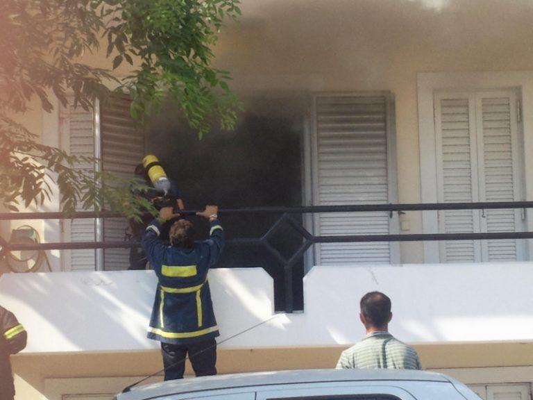 Αχαϊα: Θρίλερ σε φλεγόμενο διαμέρισμα – Δείτε το βίντεο!   Newsit.gr