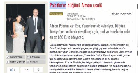 Ελληνοτουρκικός γάμος με χλιδή από …τουρκικά σήριαλ | Newsit.gr