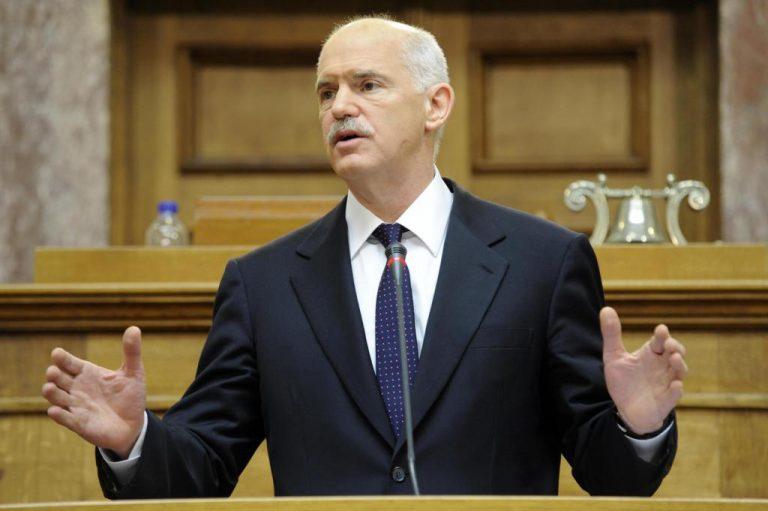 Ο Γ.Παπανδρέου απαντά στον πρώην σύμβουλο του για την έξοδο από το ευρώ | Newsit.gr
