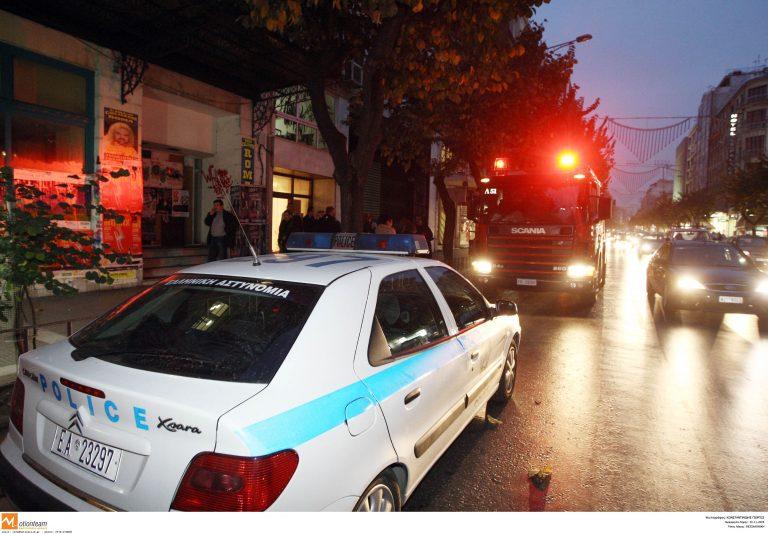Θεσσαλονίκη: γκαζάκια σε είσοδο πολυκατοικίας | Newsit.gr