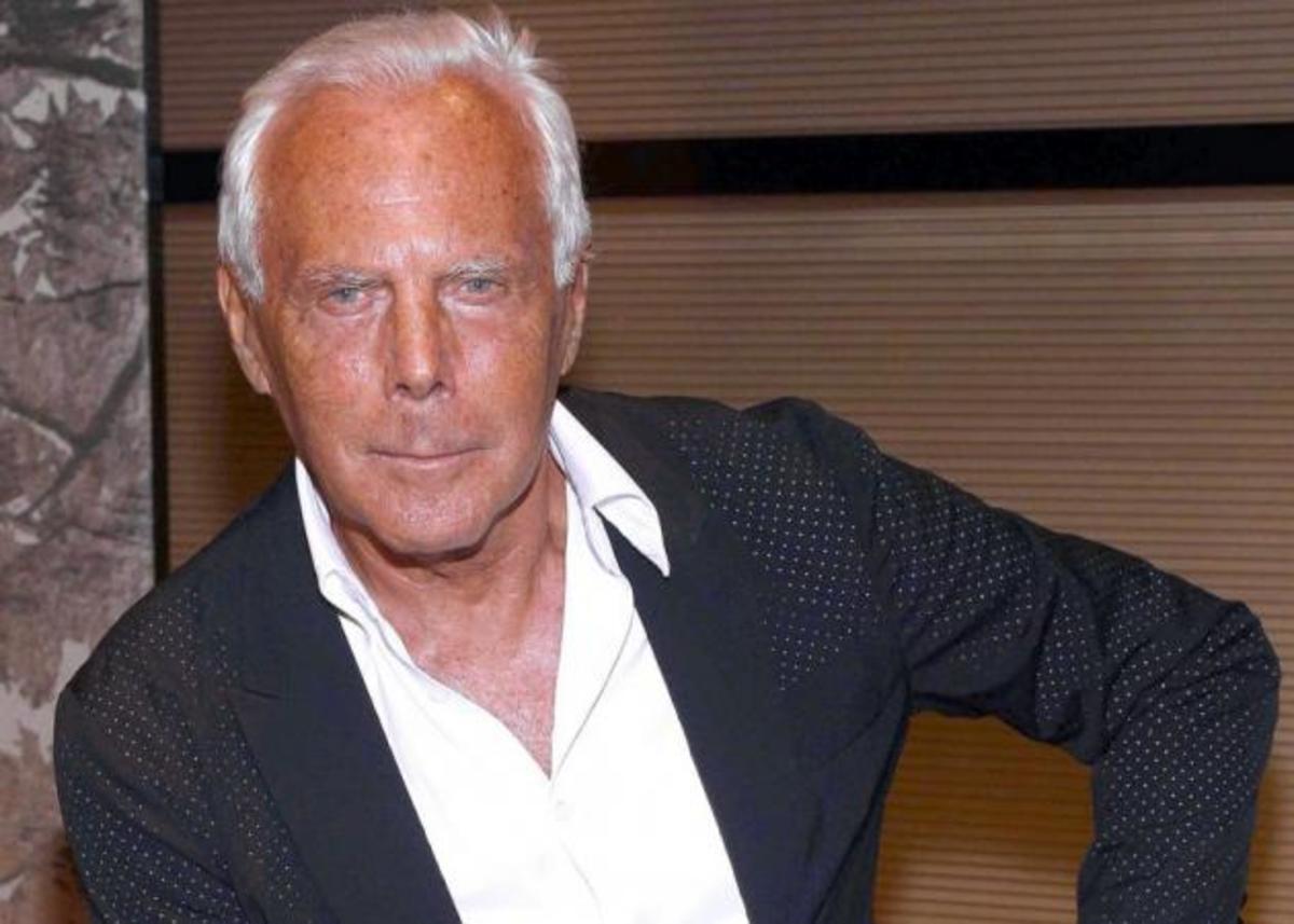 O Giorgio Armani θα πρωταγωνιστήσει σε καμπάνια! | Newsit.gr