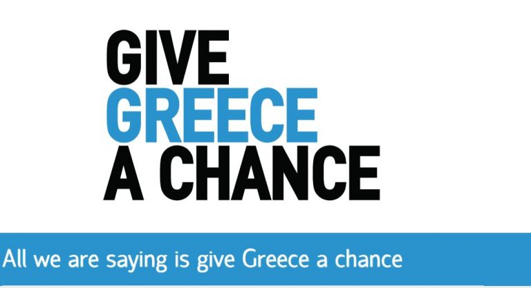 «Give Greece a Chance» | Newsit.gr