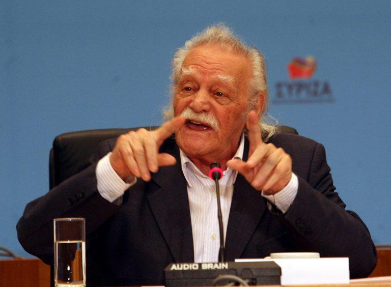 Μ. Γλέζος: μας ζητούν να στηρίξουμε όσα καταδίκασε ο λαός | Newsit.gr
