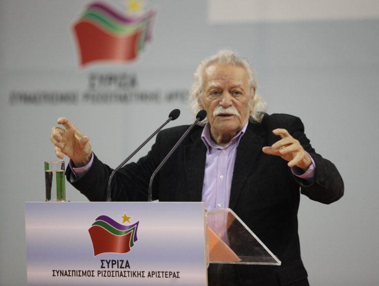 Ο Μ. Γλέζος επικεφαλής στο ψηφοδέλτιο Επικρατείας του ΣΥΡΙΖΑ | Newsit.gr