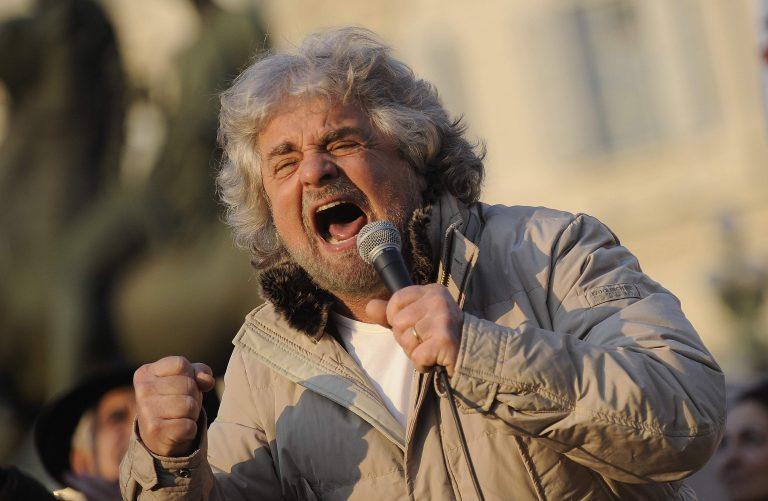 Γκρίλο: Δε στηρίζω κυβέρνηση τεχνοκρατών   Newsit.gr
