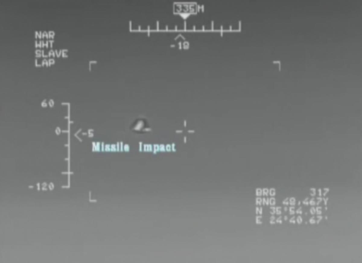 ΒΙΝΤΕΟ από τις εκτοξεύσεις πυραύλων στο Θαλάσσιο Γρύπα από Mirage και Apache | Newsit.gr