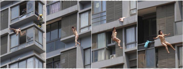 Επεσε γυμνή από τον 11ο όροφο και έζησε – Καρέ – καρέ οι στιγμές αγωνίας | Newsit.gr