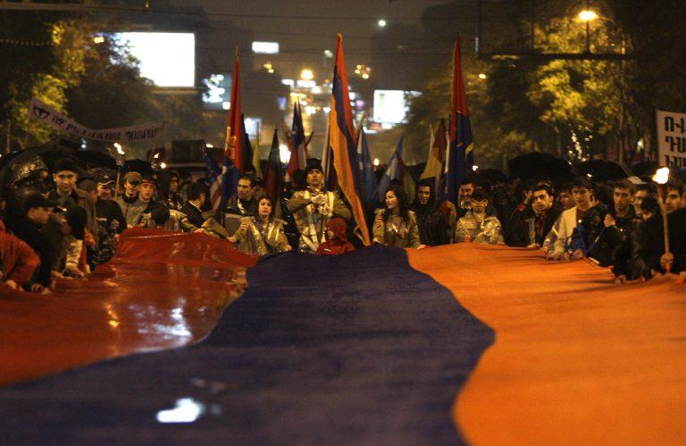 Διαδηλώσεις για τη Γενοκτονία των Αρμενίων στην Τουρκία | Newsit.gr