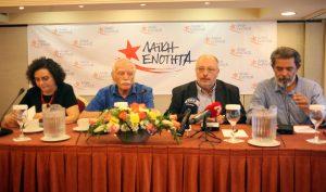 Εκλογές 2015: Ο Γλέζος καρφώνει Τσίπρα: Δεν υπήρχε κίνδυνος Grexit